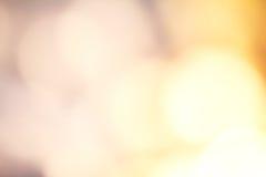 Guld- festlig julbakgrund Abstrakt begrepp blinkade ljus baksida Fotografering för Bildbyråer