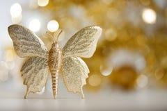 guld- fjäril arkivfoto