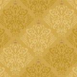 Guld- fjärilsWallpaper för mörker stock illustrationer