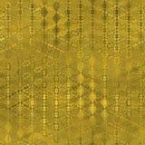 Guld- folie textur för sömlös och Tileable lyxig bakgrund Blänka rynkig guld- bakgrund för ferie Arkivfoto