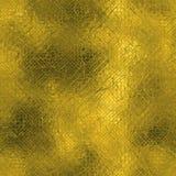 Guld- folie textur för sömlös och Tileable lyxig bakgrund Blänka rynkig guld- bakgrund för ferie Arkivbilder