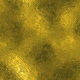 Guld- folie textur för sömlös och Tileable lyxig bakgrund Blänka rynkig guld- bakgrund för ferie Royaltyfri Bild