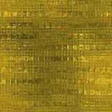 Guld- folie textur för sömlös och Tileable lyxig bakgrund Blänka rynkig guld- bakgrund för ferie Arkivbild