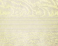 Guld- för brokadtextil för blom- prydnad modell Royaltyfri Foto