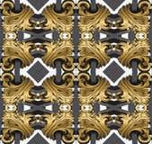 guld- fractal Arkivbild