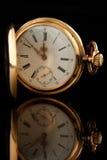 guld- gammal watch Royaltyfria Foton