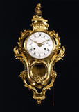 guld- gammalt för klockamode Arkivfoton
