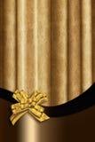 Guld- gardin Arkivbild