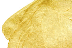 Guld- gnistrandetextur Abstrakt guld- blänker bakgrund Guld M Arkivbild