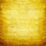 Guld- grungebakgrund Arkivbild