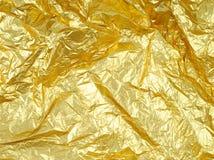 guld- grungefoto för abstrakt bakgrund Royaltyfri Foto