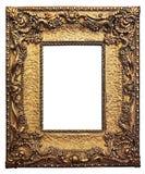 Guld- Guilded bildram royaltyfria bilder