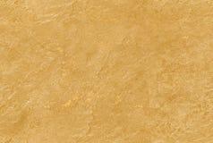 Guld- gul sömlös venetian textur för murbrukbakgrundssten Traditionell venetian teckning för modell för korn för murbrukstentextu Royaltyfri Foto