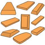 Guld- guldtacka Arkivbild