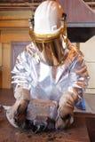 Guld- guldtacka för förrådsplats Royaltyfri Foto