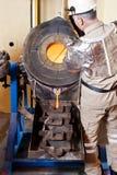 Guld- guldtacka för förrådsplats Royaltyfri Fotografi