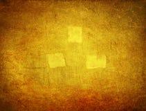 Guld- gungebakgrund Royaltyfri Foto