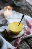 Guld- gurkmeja mjölkar Arkivfoto