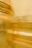 guld- hörn Arkivfoton