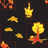 Guld- höst Royaltyfri Fotografi
