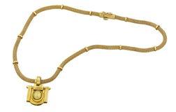 Guld- halsband Arkivbilder
