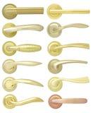 guld- handtag för dörr vektor illustrationer