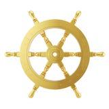 guld- hjultolkning för skepp 3d Arkivfoton