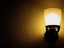 guld- hopelampa Royaltyfri Bild