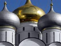 guld- horisontal för kupol royaltyfria bilder