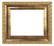 Guld- inrama Fotografering för Bildbyråer