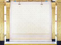guld- interior för design royaltyfri foto