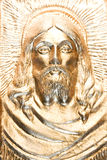 guld jesus royaltyfria bilder