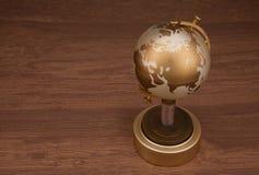 Guld- jordklot Royaltyfria Foton