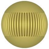 Guld- jordklot 4 royaltyfria foton