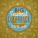 Guld- jul bakgrund och försäljningserbjudande vektor illustrationer
