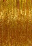 Guld- julglitterbakgrund Royaltyfri Fotografi