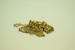 Guld- juvel Arkivbild