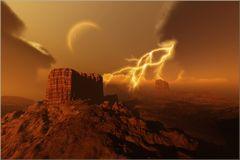 guld- kanjon Royaltyfri Bild