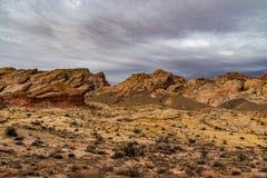 Guld- kanjon av den Utah öknen royaltyfri fotografi