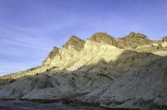 Guld- kanjon, Death Valley nationalpark Kalifornien Arkivfoto
