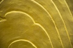 Guld- karpvåg royaltyfri bild