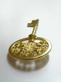 guld- key framgång till Royaltyfria Bilder
