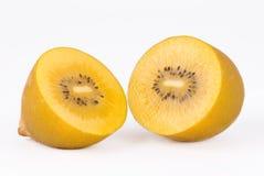 guld- kiwi för frukt Royaltyfria Foton