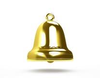 Guld- klocka Royaltyfria Foton