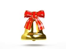 Guld- klocka Royaltyfri Bild