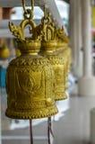 Guld- Klocka mitttempel Royaltyfri Foto