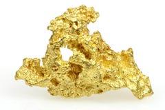 Guld- klump arkivfoton