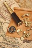 Guld- klumpar Royaltyfria Bilder