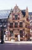 Guld- kontor i den Groningen staden, Nederländerna Royaltyfri Fotografi