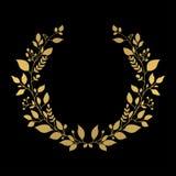 Guld- kran Arkivbilder
